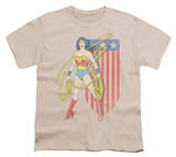 Youth: Wonder Woman - USA Banner Shirts