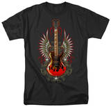 Winged Guitar T-shirts