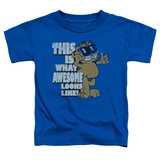 Toddler: Garfield - Awesome T-shirts