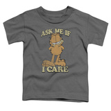Toddler: Garfield - Ask Me T-shirts