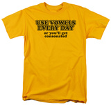 Vowels Everyday T-Shirt