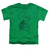 Toddler: Popeye - Spinach Strong T-Shirt