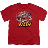 Youth: The Flash - Flash Family T-shirts