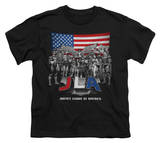 Youth: Justice League - All American League T-Shirt