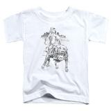 Toddler: Popeye - Walking the Dog T-Shirt