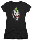 Juniors: Batman Arkham City - Spraypaint Smile T-Shirt