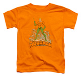 Toddler: Aquaman - Aquaman Distressed T-shirts