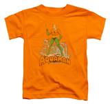 Toddler: Aquaman - Aquaman Distressed Shirt