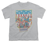 Youth: Justice League - JLA American Shield T-shirts
