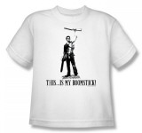 Youth: Army Of Darkness - Boomstick! T-shirts