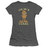 Juniors: Garfield - Ask Me T-Shirt