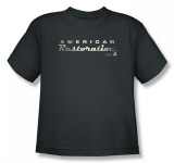 Youth: American Restoration - Drop Shadow Logo T-Shirt