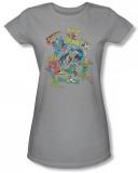 Juniors: Justice League - Super Collage T-shirts