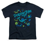 Youth: Dolphin Tale - Bubbles T-shirts