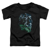 Toddler: Green Lantern - Black Lantern Batman T-Shirt