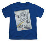 Youth: Justice League - Logo Note Paper T-shirts