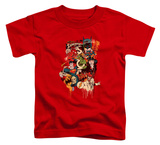 Toddler: DC Comics - Dripping Characters Shirts