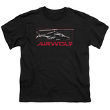 Youth: Airwolf - Airwolf Grid T-Shirt
