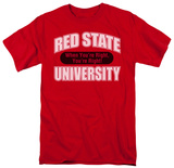 Red State University T-shirts