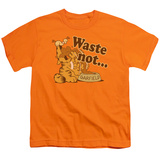 Youth: Garfield - Waste Not T-shirts