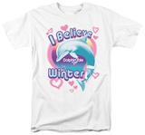 Dophin Tale - I Believe in Winter T-Shirt