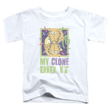 Toddler: Garfield - My Clone Did It T-shirts