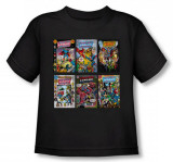 Toddler: Justice League - JLA Covers T-Shirt
