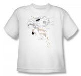 Youth: Helmet Girls - Oil Leak T-shirts
