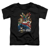 Toddler: Justice League - Starburst T-shirts
