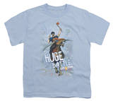 Youth: Axe Cop - Huge Battle T Shirts