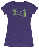 Juniors: Batman Arkham City - Joker's Fun House Shirt