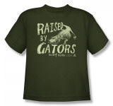 Youth: Swamp People - Raised by Gators T-Shirt