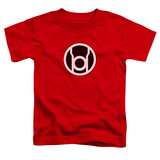 Toddler: Green Lantern - Red Lantern Symbol T-Shirt