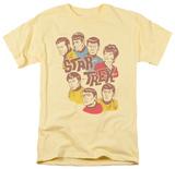 Star Trek - Retro Illustrated Crew T-Shirt