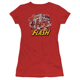 Juniors: The Flash - Flash Family T-shirts