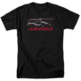 Airwolf - Airwolf Grid T-shirts
