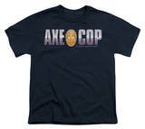 Youth: Axe Cop - Axe Cop Logo T-Shirt