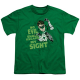 Youth: Green Lantern - No Evil T-shirts