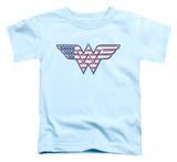 Toddler: Wonder Woman - Red White & Blue T-shirts
