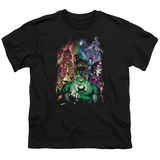 Youth: Green Lantern - The New Guardians T-shirts