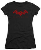 Juniors: Batman Arkham City - Red Bat T-Shirt