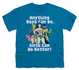 Youth: Justice League - Girls Can Do Better T-Shirt