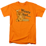 Garfield - Waste Not T-shirts