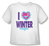 Toddler: Dophin Tale - I Heart Winter Shirts