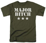 Major Bitch T-shirts