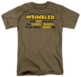 Wrinkled T-shirts