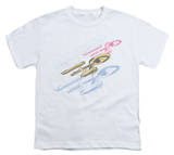 Youth: Star Trek - Retro Tri-Enterprise T-shirts