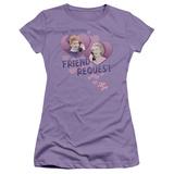 Juniors: I Love Lucy - Friend Request T-Shirt