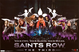 Saints Row 3 - Your City Posters