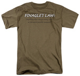 Finagle's Law T-Shirt